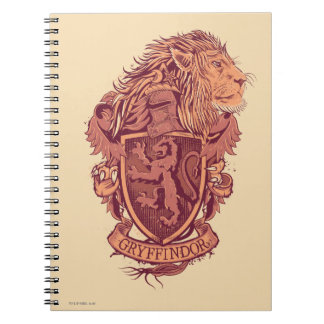 Harry Potter | Gryffindor Lion Crest Notebook