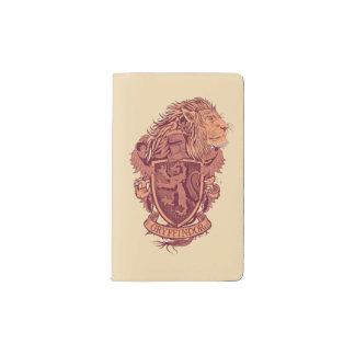 Harry Potter | Gryffindor Lion Crest Pocket Moleskine Notebook