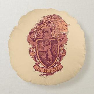 Harry Potter   Gryffindor Lion Crest Round Cushion