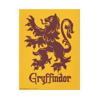 Harry Potter | Gryffindor Lion Graphic Canvas Print