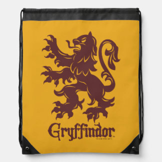 Harry Potter | Gryffindor Lion Graphic Drawstring Bag