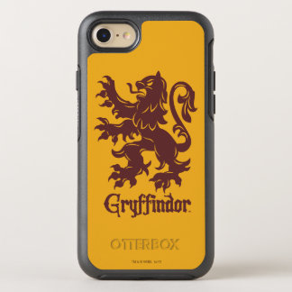 Harry Potter | Gryffindor Lion Graphic OtterBox Symmetry iPhone 7 Case