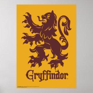 Harry Potter | Gryffindor Lion Graphic Poster