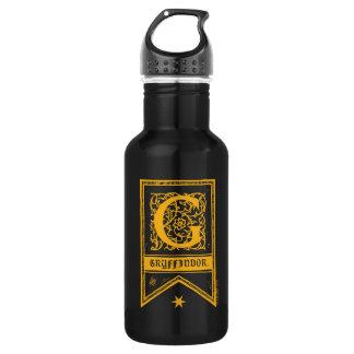 Harry Potter | Gryffindor Monogram Banner 532 Ml Water Bottle