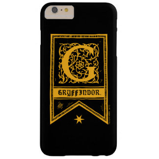 Harry Potter | Gryffindor Monogram Banner Barely There iPhone 6 Plus Case