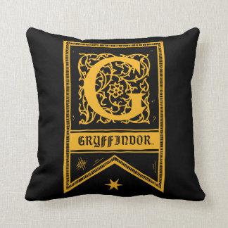Harry Potter | Gryffindor Monogram Banner Cushion