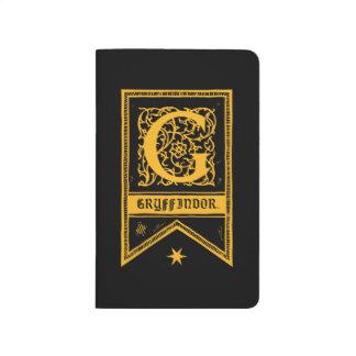 Harry Potter | Gryffindor Monogram Banner Journal