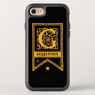 Harry Potter | Gryffindor Monogram Banner OtterBox Symmetry iPhone 8/7 Case