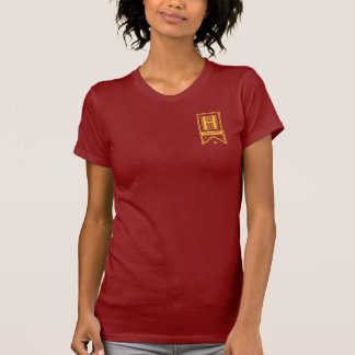 Harry Potter | Gryffindor Monogram Banner T-Shirt