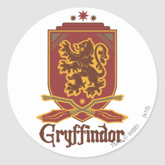 Harry Potter | Gryffindor QUIDDITCH™  Badge Classic Round Sticker