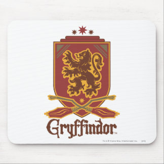 Harry Potter | Gryffindor QUIDDITCH™  Badge Mouse Mat