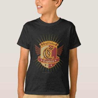 Harry Potter | Gryffindor QUIDDITCH� Captain Emble T-Shirt