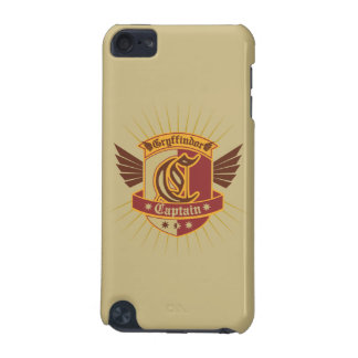Harry Potter | Gryffindor QUIDDITCH™  Captain Logo iPod Touch (5th Generation) Covers