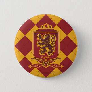 Harry Potter | Gryffindor QUIDDITCH™  Crest 6 Cm Round Badge