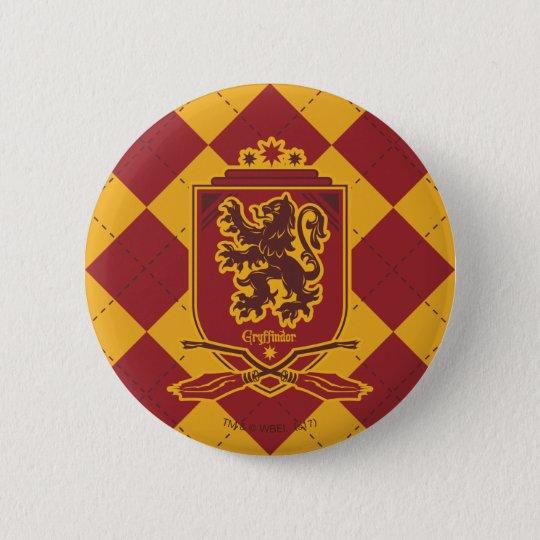 Harry Potter | Gryffindor QUIDDITCH™  Crest 6 Cm Round Badge