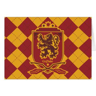 Harry Potter | Gryffindor QUIDDITCH™  Crest Card