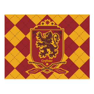 Harry Potter | Gryffindor QUIDDITCH™  Crest Postcard