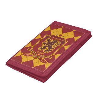 Harry Potter | Gryffindor QUIDDITCH™  Crest Trifold Wallet