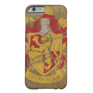 Harry Potter | Gryffindor - Retro House Crest Barely There iPhone 6 Case