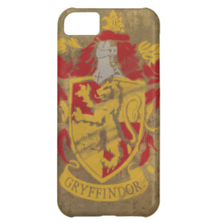 Harry Potter | Gryffindor - Retro House Crest iPhone 5C Case