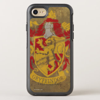 Harry Potter | Gryffindor - Retro House Crest OtterBox Symmetry iPhone 8/7 Case