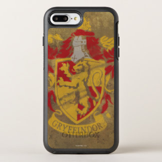 Harry Potter | Gryffindor - Retro House Crest OtterBox Symmetry iPhone 8 Plus/7 Plus Case