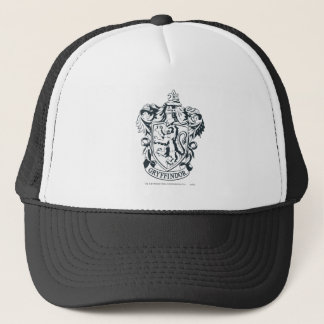 Harry Potter | Gryffindor Stencil Sketch Trucker Hat