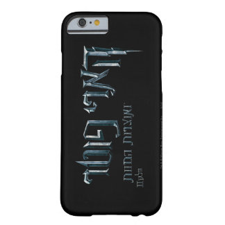 Harry Potter Hebrew Barely There iPhone 6 Case