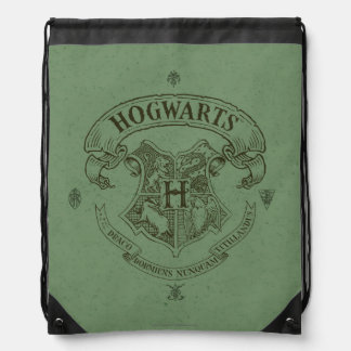 Harry Potter | Hogwarts Banner Crest Drawstring Bag