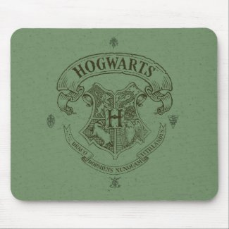 Harry Potter | Hogwarts Banner Crest Mouse Mat
