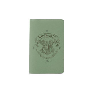 Harry Potter | Hogwarts Banner Crest Pocket Moleskine Notebook