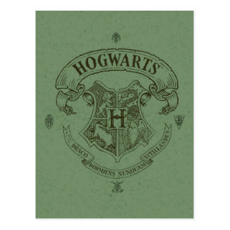 Harry Potter | Hogwarts Banner Crest Postcard