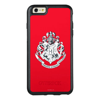 Harry Potter | Hogwarts Crest - Black and White OtterBox iPhone 6/6s Plus Case