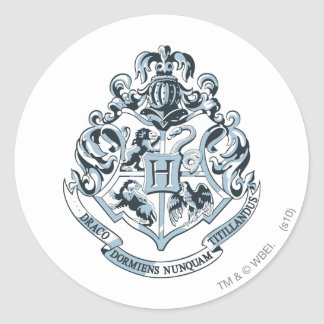 Harry Potter | Hogwarts Crest - Blue Classic Round Sticker