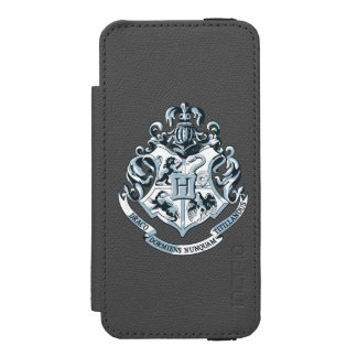 Harry Potter | Hogwarts Crest - Blue Incipio Watson™ iPhone 5 Wallet Case