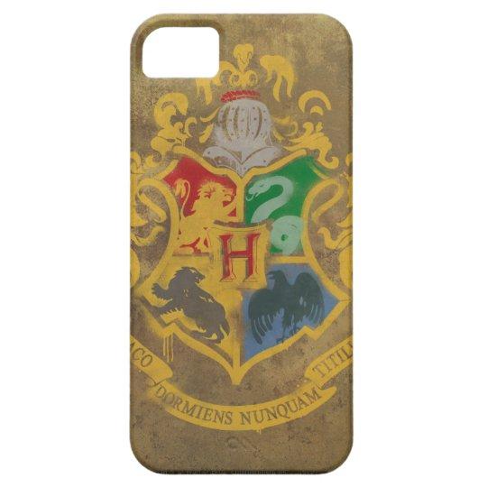 Harry Potter   Hogwarts Crest - Blue iPhone 5 Cases