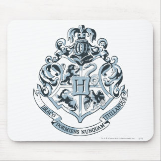 Harry Potter | Hogwarts Crest - Blue Mouse Mat