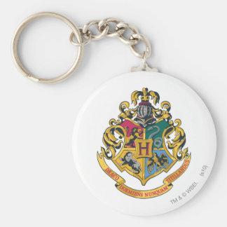 Harry Potter | Hogwarts Crest - Full Color Basic Round Button Key Ring