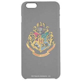 Harry Potter | Hogwarts Crest - Full Color Clear iPhone 6 Plus Case