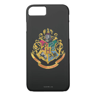 Harry Potter   Hogwarts Crest - Full Color iPhone 8/7 Case