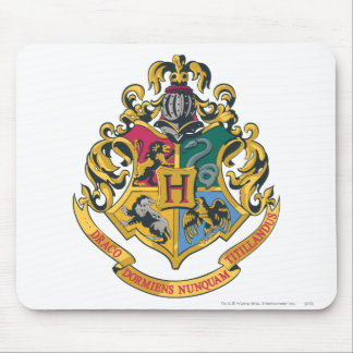 Harry Potter | Hogwarts Crest - Full Color Mouse Mat