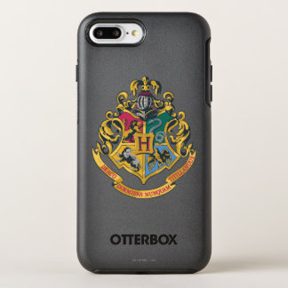 Harry Potter | Hogwarts Crest - Full Color OtterBox Symmetry iPhone 8 Plus/7 Plus Case