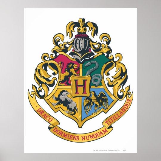 Harry Potter   Hogwarts Crest - Full Colour