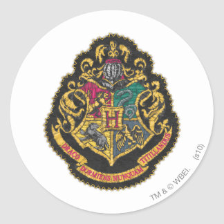 Harry Potter | Hogwarts Crest Round Sticker