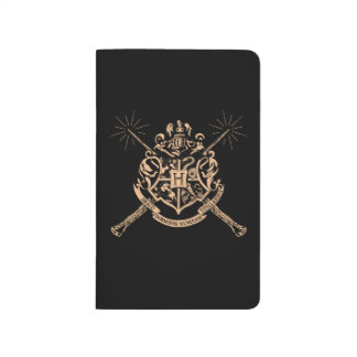 Harry Potter | Hogwarts Crossed Wands Crest Journals