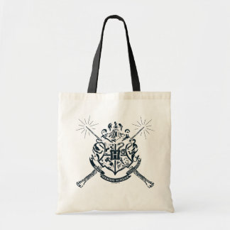 Harry Potter | Hogwarts Crossed Wands Crest Tote Bag