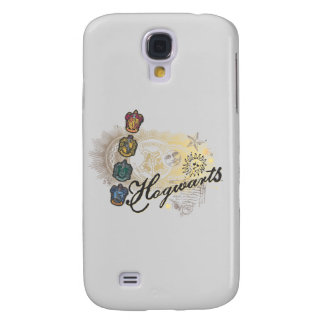 Harry Potter | Hogwarts Houses - Full Color Galaxy S4 Case