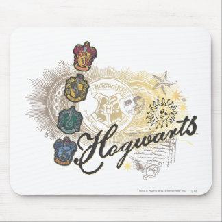 Harry Potter | Hogwarts Houses - Full Color Mouse Mat