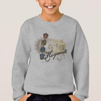 Harry Potter   Hogwarts Houses - Full Color Sweatshirt