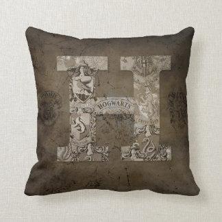 Harry Potter   Hogwarts Monogram Cushion